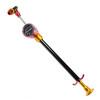 KCNC Pompa per sospensioni e forcella Pompa bici 450 PSI rosso/nero